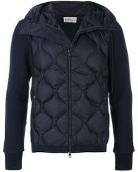 Moncler - Giacca 'maglia' - Lyst
