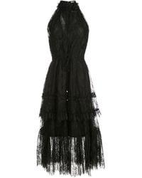 Alexis Magdalina レースドレス - ブラック