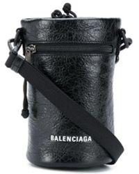 Balenciaga Portabotellas Weekend - Negro