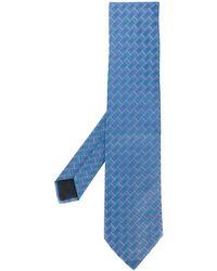 Hermès Gewebte 2000er Krawatte - Blau