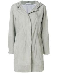 Fabiana Filippi - Hooded Trench Coat - Lyst