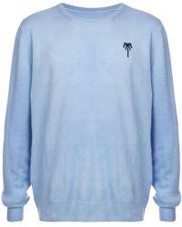 The Elder Statesman - Embroidered Palm Sweatshirt - Lyst