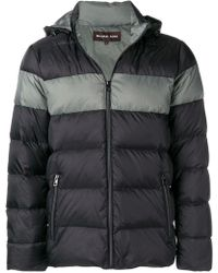 c313ff90426f Lyst - Michael Kors Hooded Puffer Jacket in Green for Men