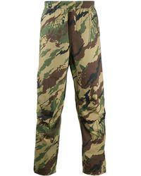 Maharishi Jogginghose mit Camouflage-Print - Grün