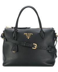 Prada - All Designer Products - Paradigm Tote Bag - Lyst