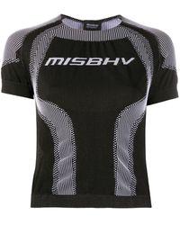 MISBHV Sport Active Wear Cropped T-shirt - Black