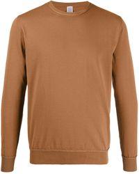 Eleventy クルーネック スウェットシャツ - ブラウン