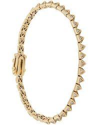 Eddie Borgo - Triangle Bead Bracelet - Lyst