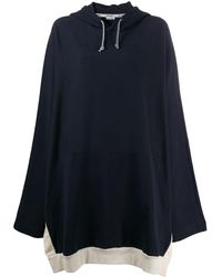 Sunnei オーバーサイズ フーデッドドレス - ブルー