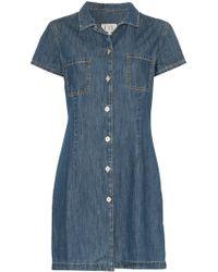 Eve Denim Carlotta Denim Shirt-dress - Blue