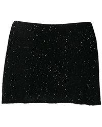 Fabiana Filippi デコラティブ スカーフ - ブラック