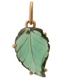 Irene Neuwirth - 18kt Rose Gold One-of-a-kind Tourmaline Leaf Charm - Lyst