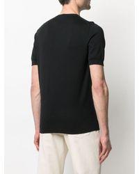 Fedeli クルーネック Tシャツ - ブラック