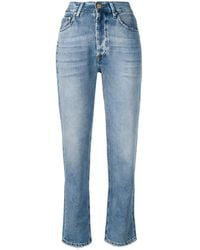Don't Cry Straight Leg Jeans - Blue
