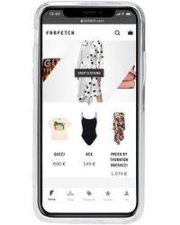 KENZO IPhone-Hülle mit Logo - Schwarz
