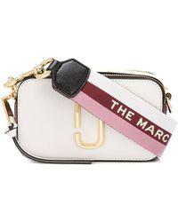 Marc Jacobs The Snapshot Crossbodytas - Wit