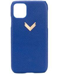 Manokhi Iphone 11 Hoesje - Blauw