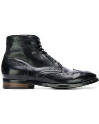 Officine Creative Princeton 36 Boots - Black