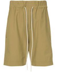Bassike - Elasticated Waist Shorts - Lyst