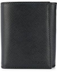 Prada - Foldover Top Wallet - Lyst