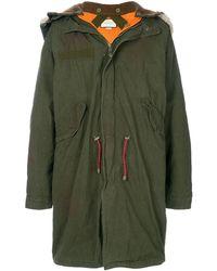 Gucci Oversized Retro Parka Coat - Green