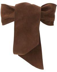 Orciani Tie Waist Belt - Brown