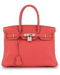 Hermès Birkin 30 Handbag - Red