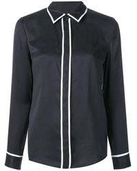 Equipment Chemise à bordures contrastantes - Noir