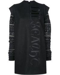 Vera Wang フェアアイル ドレス - ブラック