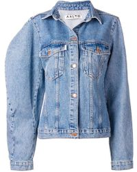 AALTO - Oversized Denim Jacket - Lyst