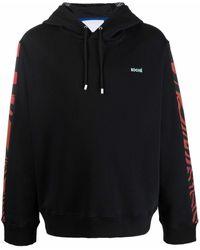 Koche Embroidered-logo Hoodie - Black