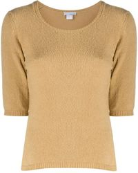 Avant Toi Short-sleeved Sweater - Multicolor