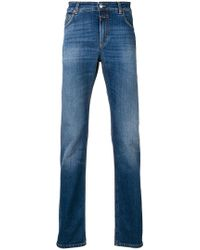 Closed - Faded Slim Fit Jeans - Lyst