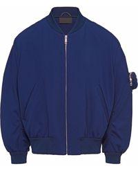Prada ボンバージャケット - ブルー