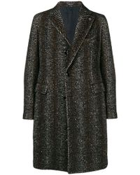 Tagliatore - Mesh Tweed Coat - Lyst