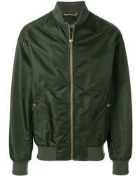Mr & Mrs Italy Classic Bomber Jacket - Green