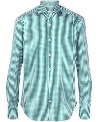 Kiton - Classic Checked Shirt - Lyst