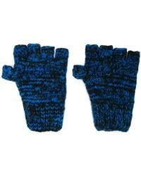 The Elder Statesman - Cashmere Knitted Fingerless Gloves - Lyst