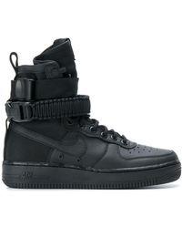 Nike Sf Air Force 1 Trainers - Black