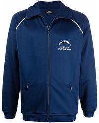 Rassvet (PACCBET) Jersey con logo y cremallera - Azul