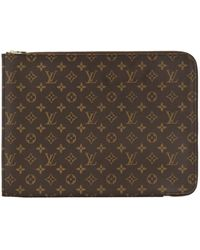 Louis Vuitton Pre-owned Monogram Document Holder - Brown