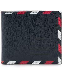 Thom Browne 二つ折り財布 - ブルー
