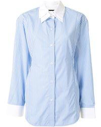 Eudon Choi Camisa Seli - Azul