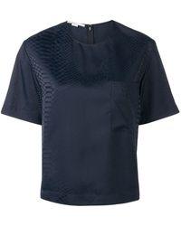 Stella McCartney パターン Tシャツ - ブルー