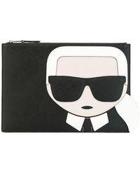 Karl Lagerfeld - Клатч K/ikonik - Lyst