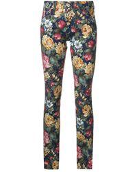 Junya Watanabe - Pantalones con motivo floral - Lyst