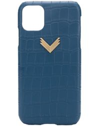 Manokhi IPhone 11-Hülle - Blau