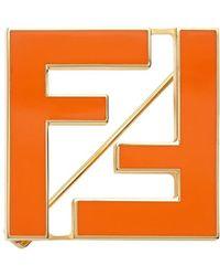 Fendi Spilla FF - Metallizzato