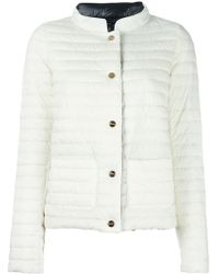 Herno High Neck Jacket - Wit