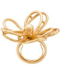 Oscar de la Renta - Botanical Scribble Ring - Lyst